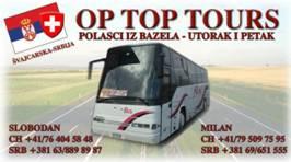 OP TOP prevoz