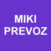 MIKI PREVOZ